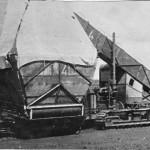 1938.a.UMF-2. Võte Tootsi rabas. Tol ajal üks ainulaadsemaid turbakogujaid maailmas.