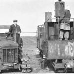 Traktorite varustamine küttega rabas 1946.a.