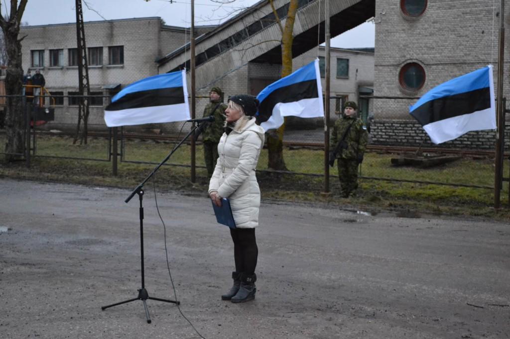 Tanja Puusepp ürituse perenaine 23.02.2014